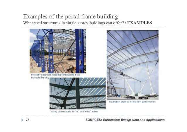 Examples Of Steel Frame Buildings : W single storey steel frames structures
