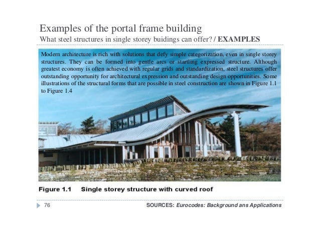 Examples Of Steel Frame Buildings : Examples of a frame structure page design
