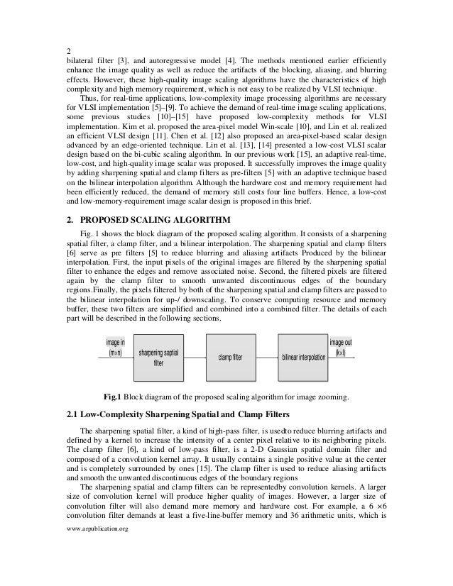 A Low Hardware Complex Bilinear Interpolation Algorithm of