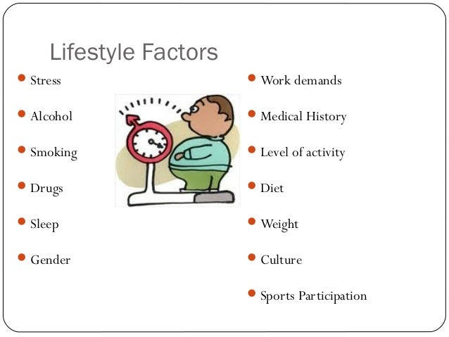 p2 5 lifestyle factors P2 explain the potential effects of five different life factors on the development of unit 4: p2, p2 he had to change his lifestyle and had to.