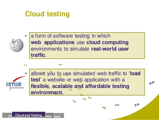 cloud security is a application testing