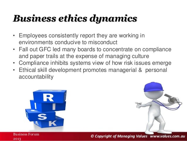 Why ethics matters in business
