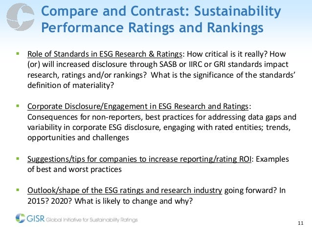 Performance Measurement: Compare and contrast three performance measurements