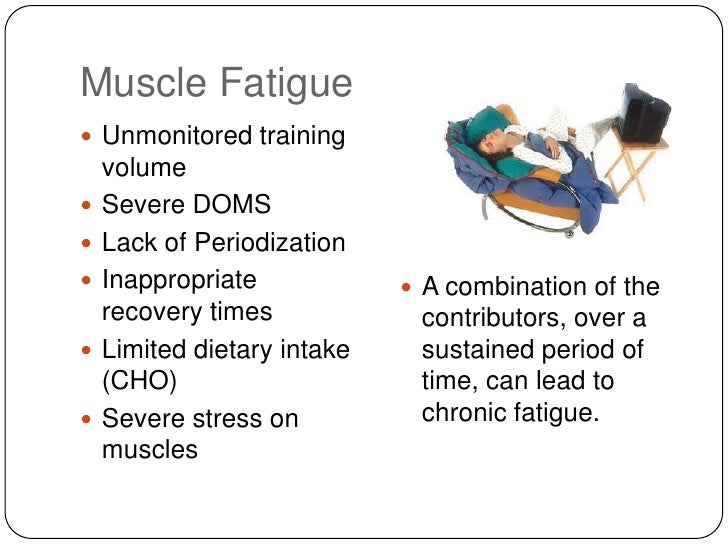 muscle fatigue Your body is sore after a dynamic workout here are some sore muscle  treatments you can try during your workout and in the recovery period.