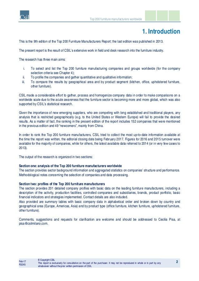 Ordinaire Company Profiles 39; 5.