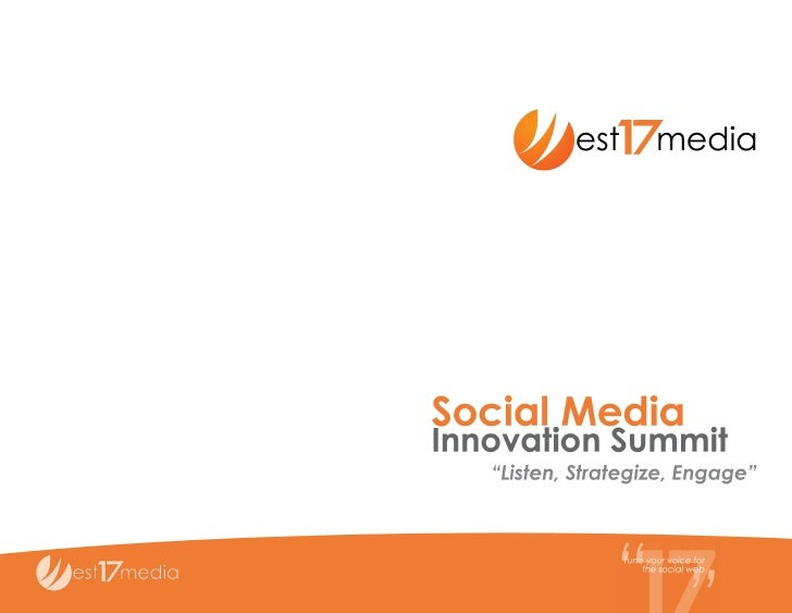 Social Media Innovation Summit