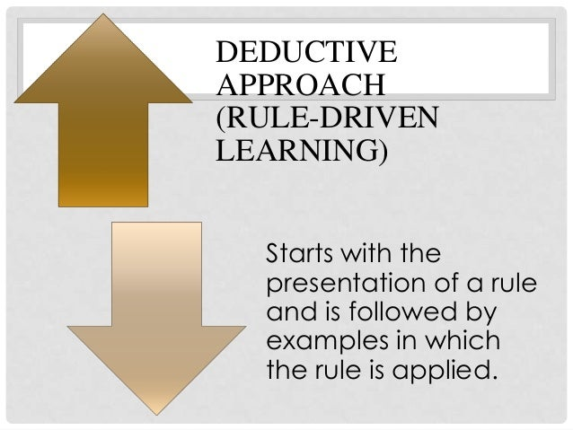 the disadvantages with inductive teaching grammar pdf