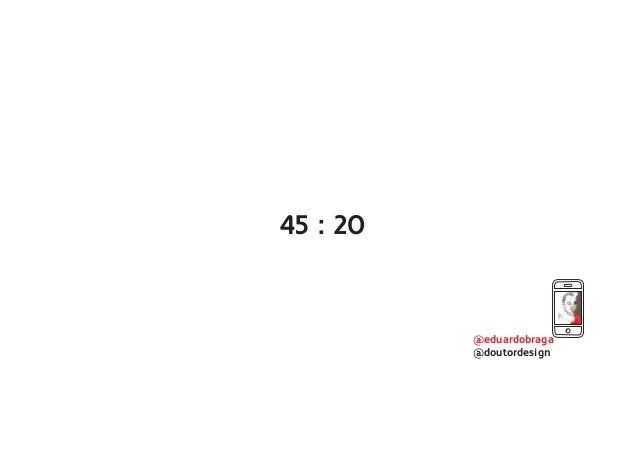 @eduardobraga @doutordesign 45 : 20