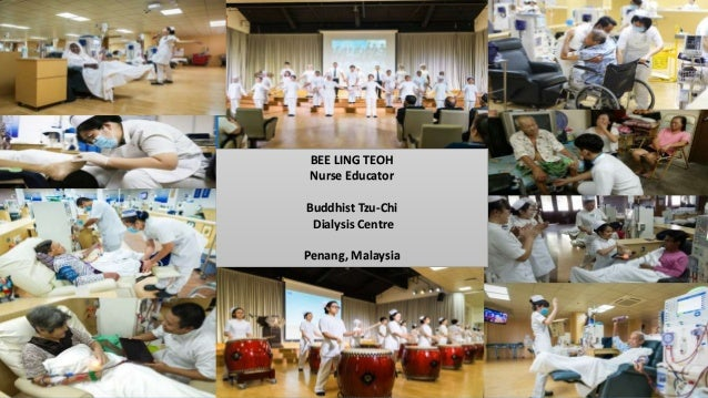 #LowCarbonHealthCare BEE LING TEOH Nurse Educator Buddhist Tzu-Chi Dialysis Centre Penang, Malaysia