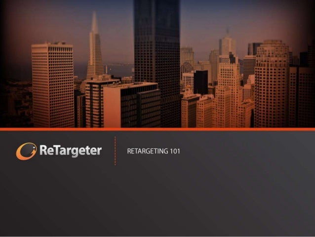 MARLO SCHNEIDER   SENIOR ACCOUNT MANAGER  Learn the basics about retargeting  and how to leverage display media  to fuel y...