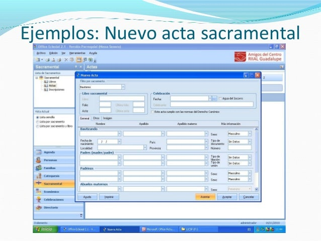 office eclesial 2.1