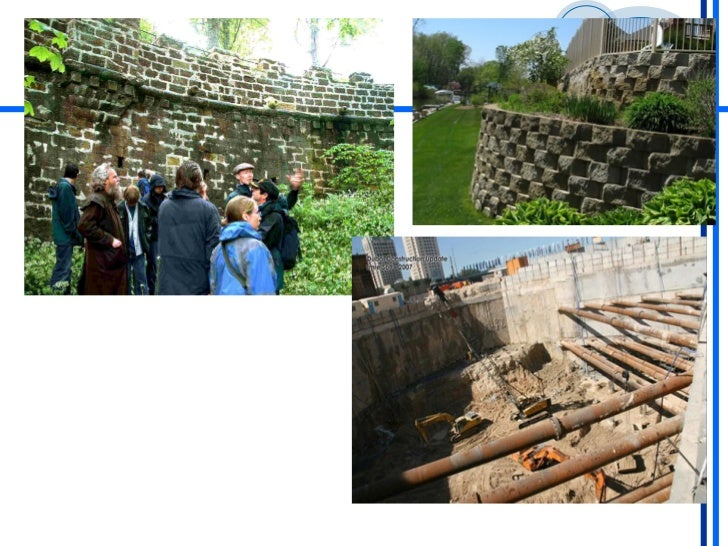 Sliding Retaining Wall : Retaining walls