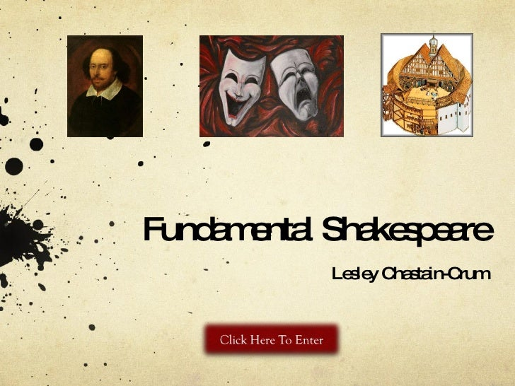 Fundamental Shakespeare Lesley Chastain-Crum