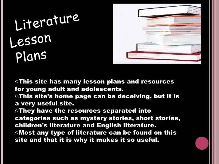Lessons Powerpoint