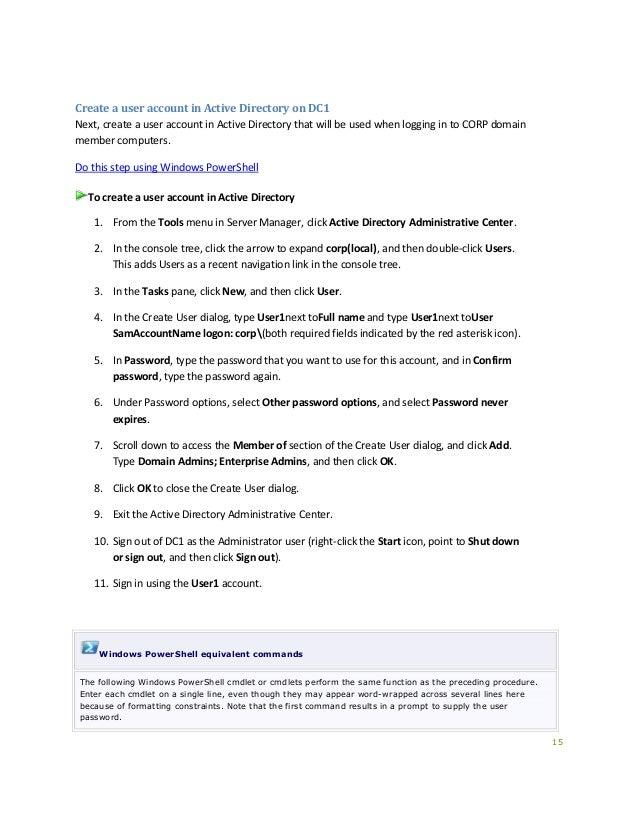 Test Lab Guide: Windows Server 2012 R2 Base Configuration