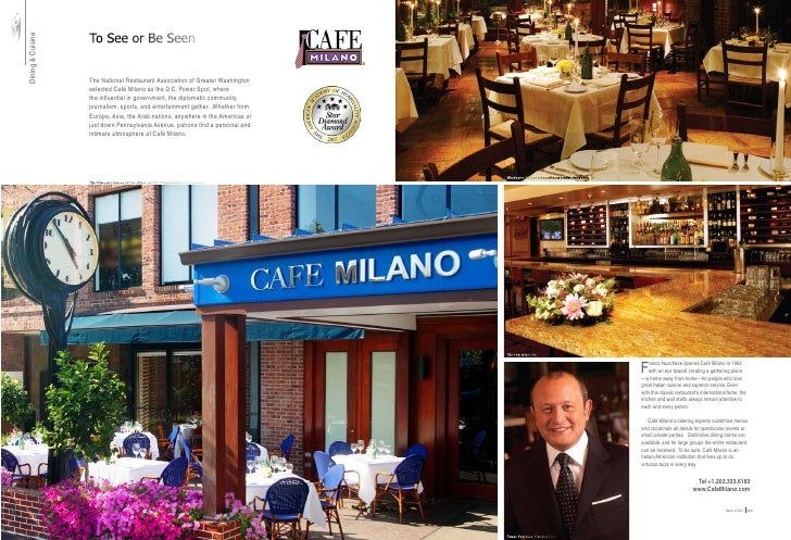 To See or Be Seen Dining & Cuisine                                          The National Restaurant Association of Greater...