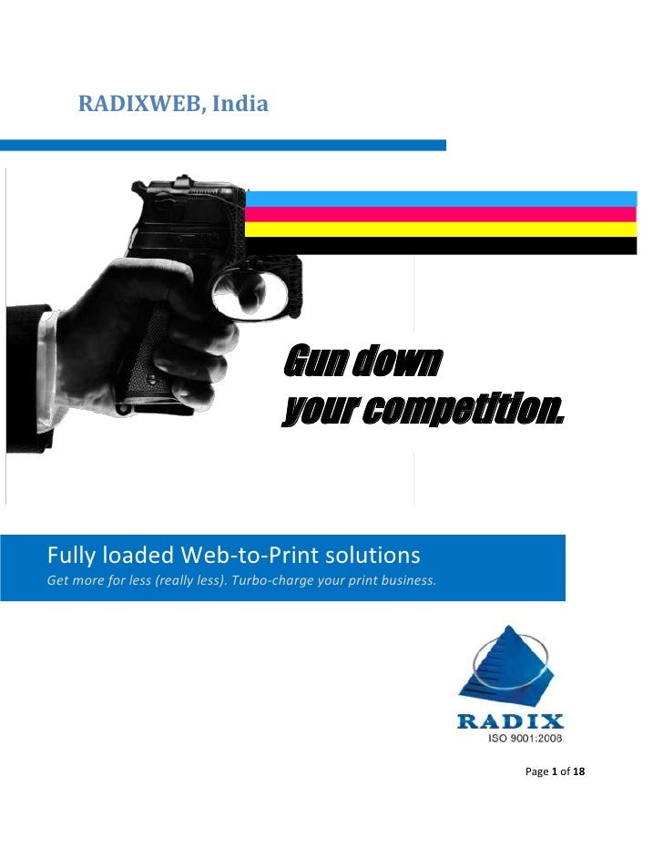 RADIXWEB, India                                            Gun down                                        your competitio...