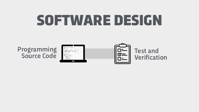 Programming Source Code SOFTWARE DESIGN Test and Verification