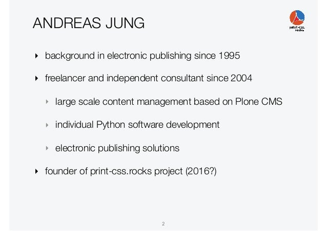 PrintCSS W3C workshop at XMLPrague 2020 Slide 2