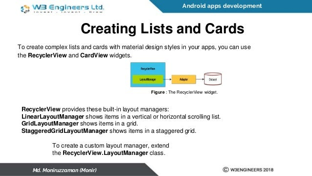 Android Apps Development Basic