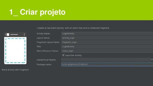 1_ Criar projeto