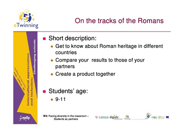 On the tracks of the Romans     Short description:          Get to know about Roman heritage in different           coun...