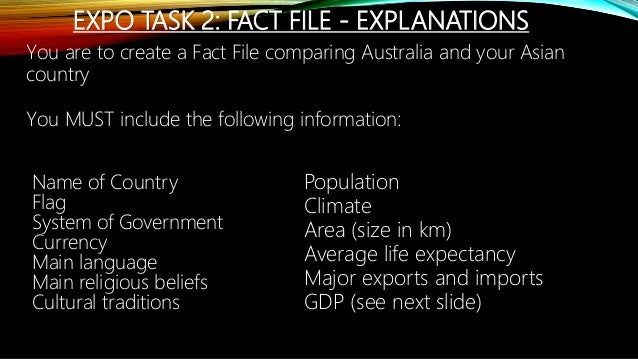 W3 year 6 expo task 2 explanation slides