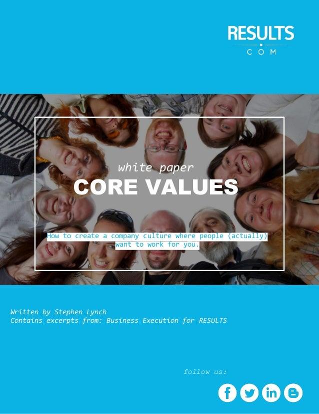 Navy's Core Values