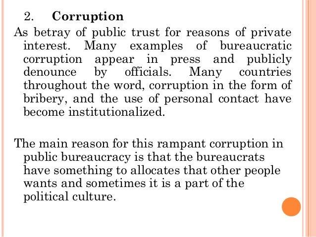 Understanding Bureaucracy In Public Administration