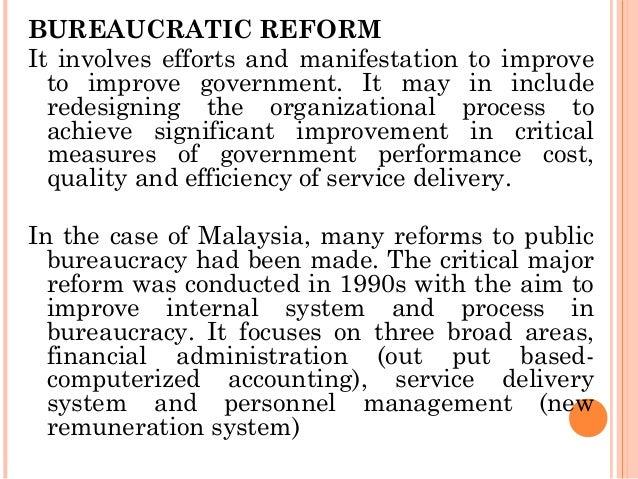bureaucracy in business