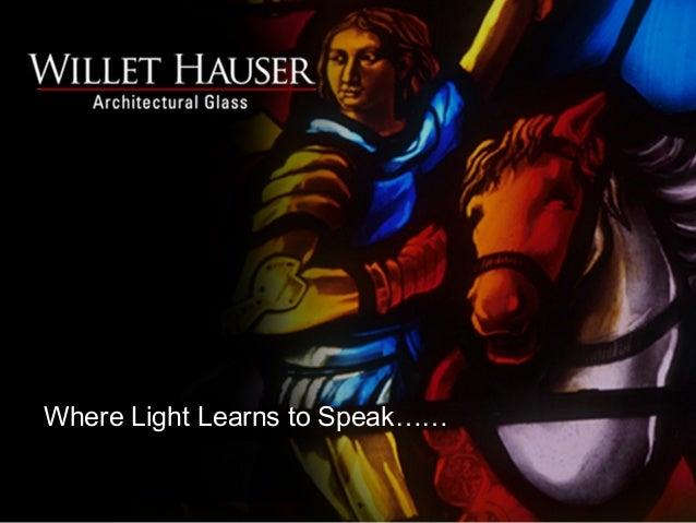 Where Light Learns to Speak……