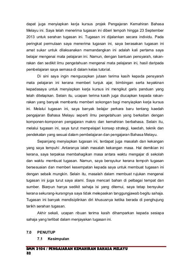 dapat juga menyiapkan kerja kursus projek Pengajaran Kemahiran Bahasa Melayu ini. Saya telah menerima tugasan ini diberi t...