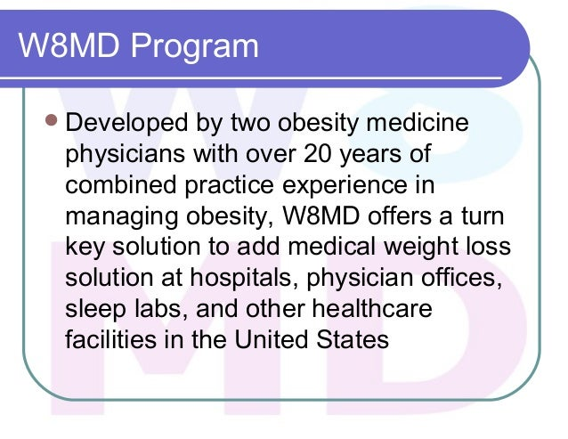 W8md Medical Weight Loss Centers Of America Weight Loss Program