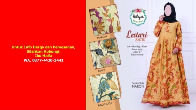 Wa 0877 4420 3441 Jual Gamis Syar I Di Bandung