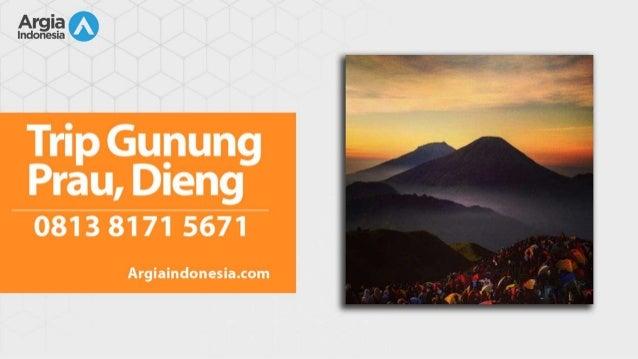 Wa 0813 8171 5671 Hotel Dieng Wonosobo Trek Gunung Prau