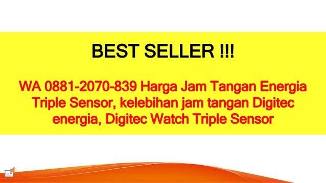 Digitec Watch Triple Sensor BEST SELLER WA 0881 2070 839 Harga Jam Tangan Energia