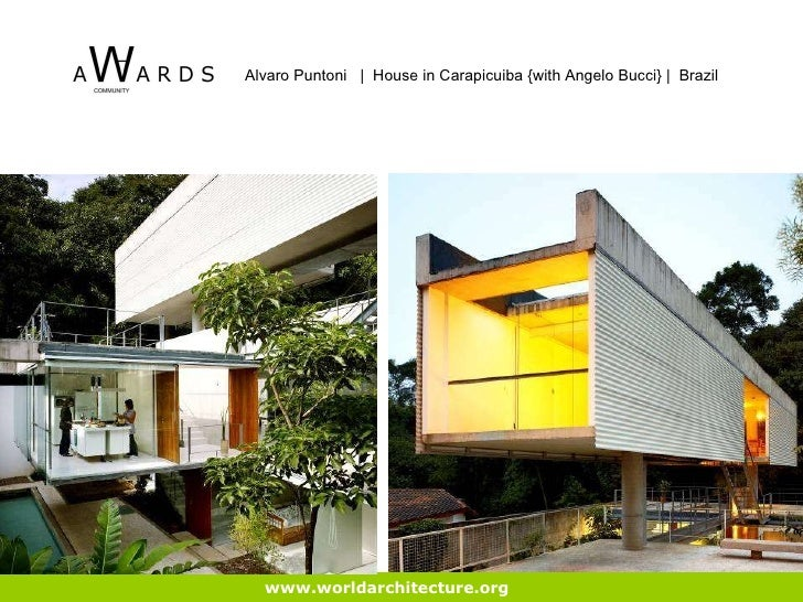 ... 23. Www.worldarchitecture.org Alvaro Puntoni | House In Carapicuiba ...