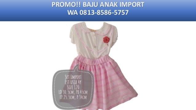 WA +62 813-8586-5757 Reseller Baju Anak Keren Laki-Laki
