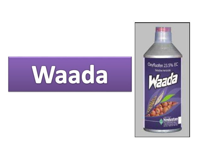 • Waada is a selective herbicide. • Used as pre-emergence treatment within 4 days after sowing / transplanting. • Selectiv...