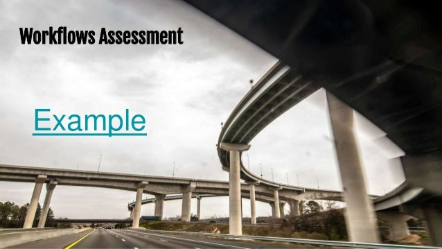 Workflows Assessment Example