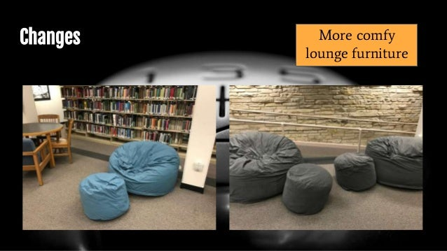 Changes More comfy lounge furniture