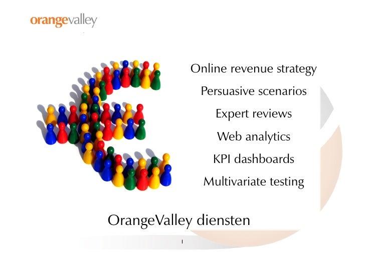 Online revenue strategy                 Persuasive scenarios                    Expert reviews                    Web anal...