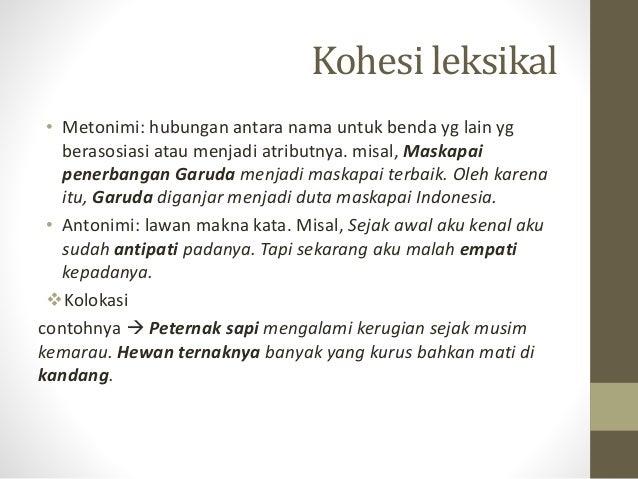 KOHESI LEKSIKAL PDF DOWNLOAD