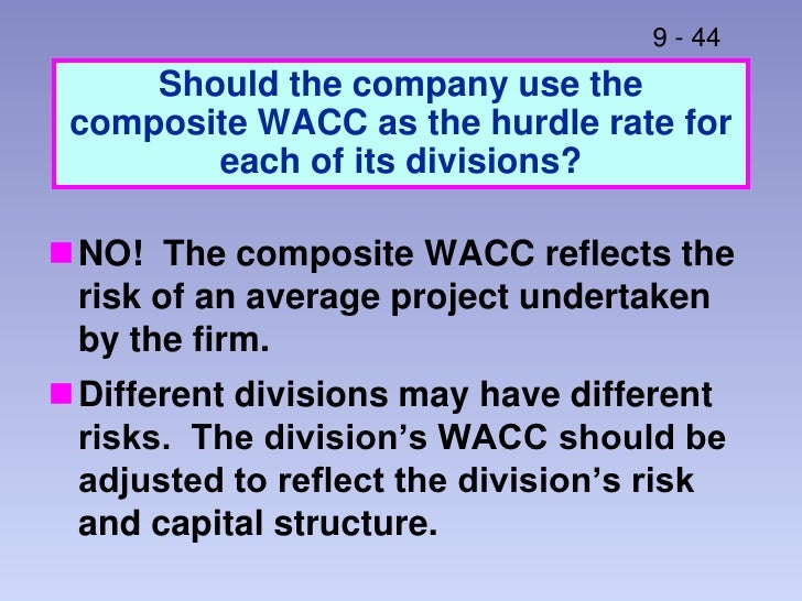 wacc advantages and limitations Modified internal rate of return, shortly referred to as mirr advantages limitations formula modified internal rate of return.