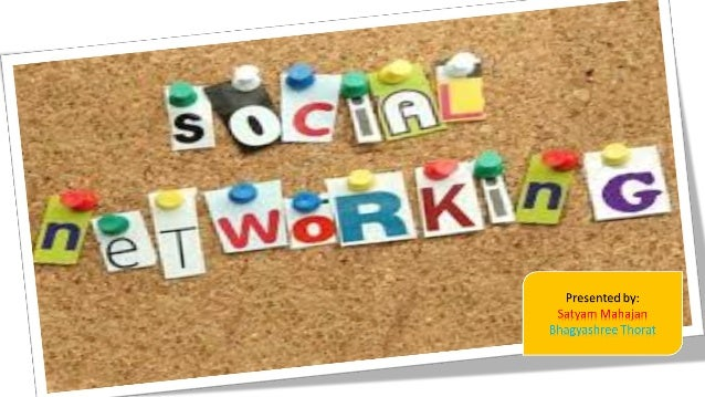 What is Social network? Social Networks is defined as 'social space' for people who want to expose themselves among others...