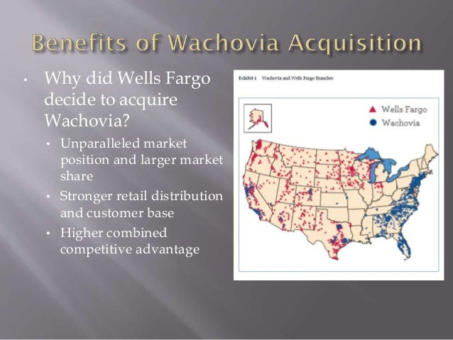wells fargo wachovia merger Wachovia securities was the trade name of wachovia's retail brokerage and institutional capital markets and investment banking subsidiaries following wachovia's merger with wells fargo and.