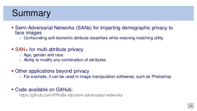 Semi-Adversarial Networks for Imparting Gender, Age and Race Privacy …