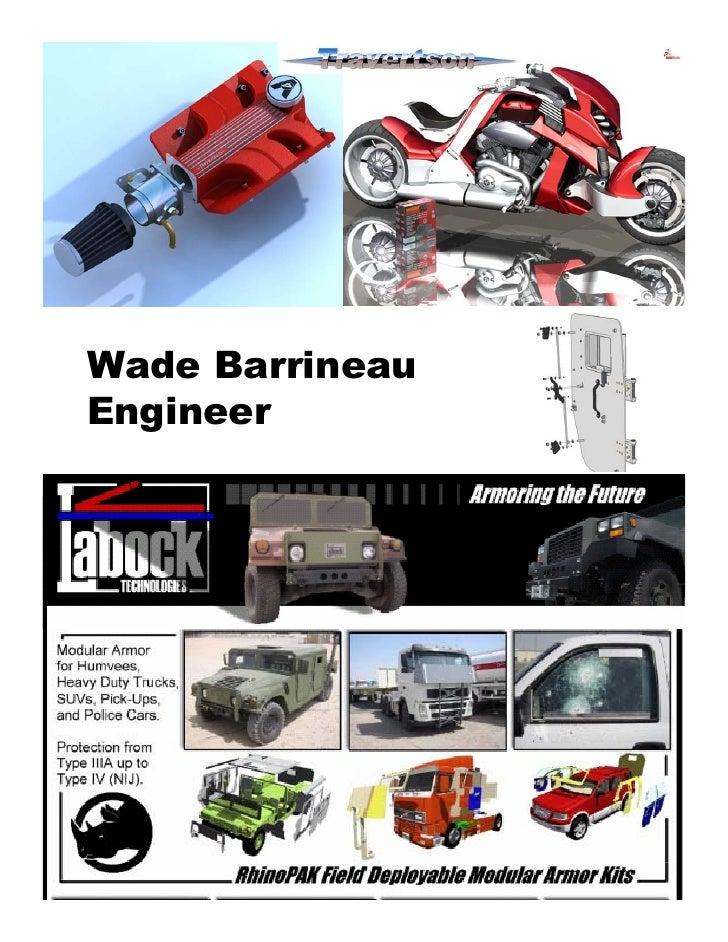 Wade Barrineau Engineer