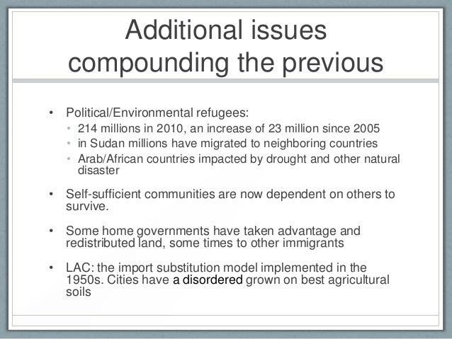 consequences and cause of refugees As train after train of refugees arrives  populations to cause  warning about the political consequences of a purely reactive response.