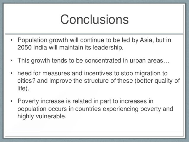 what are the causes of population growth in india